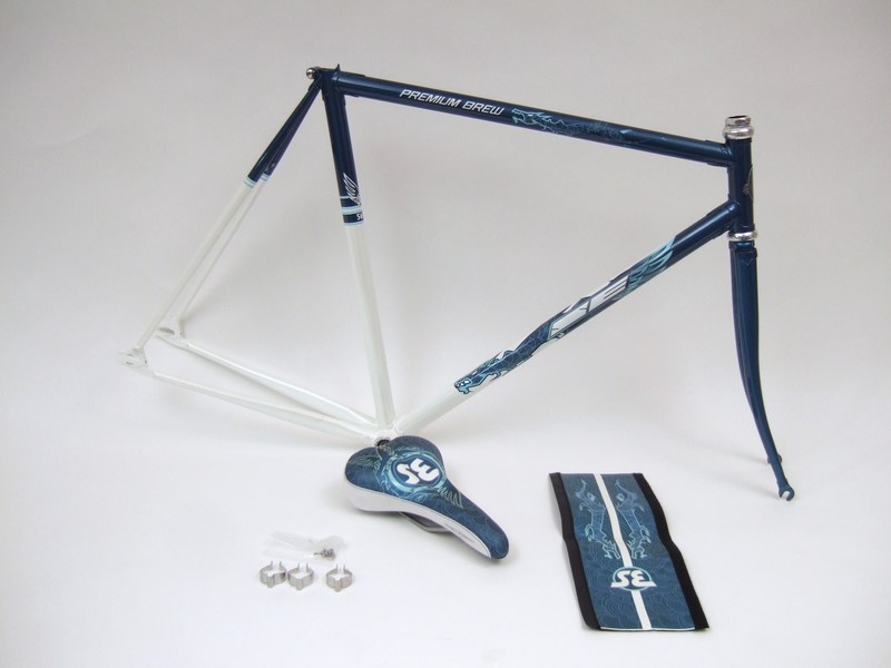 Parts SE Premium Brew - Dragon Edition Lugged Fixed Gear Single Speed Frame set Image