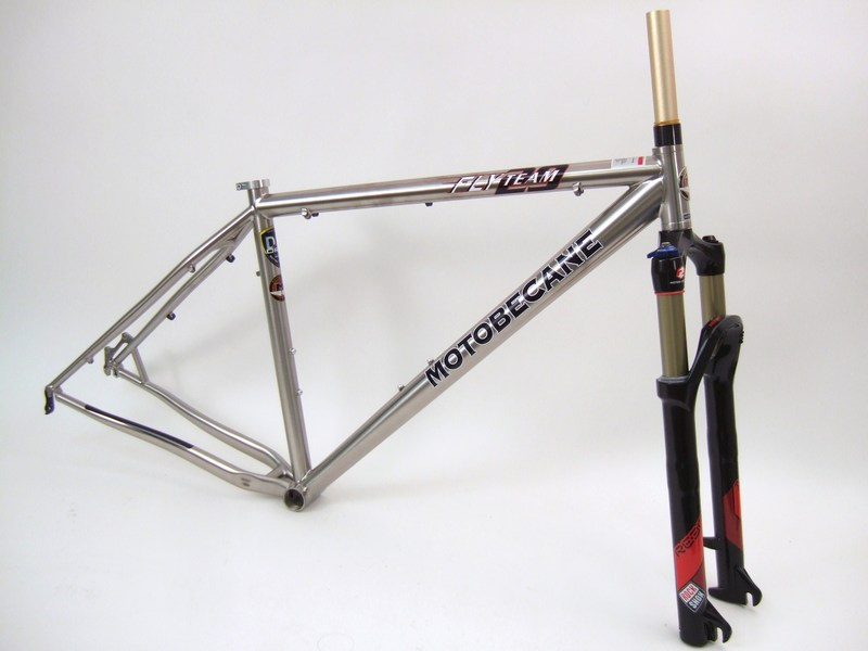 Parts Motobecane Fly 29er Team Ti with Reba RL Fork Image