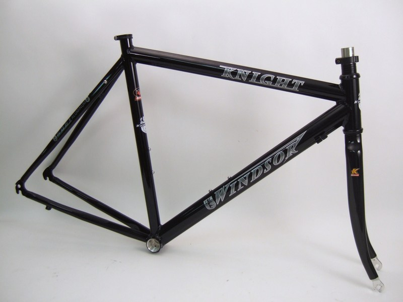 Parts Knight - Aluminum Road Frame with Carbon Fork Image