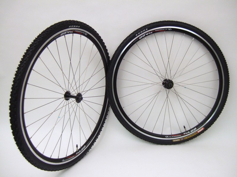 Parts 700c Alex Da28 Cyclocross Wheels with Tires for Rim Brakes Image