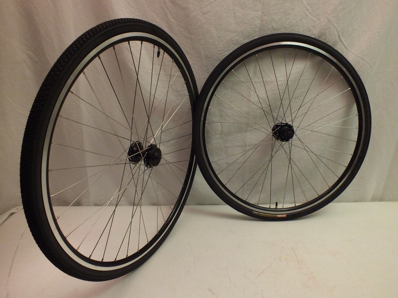 Parts 700c Disc Brake Cyclocross Wheels with Kenda Tires Image
