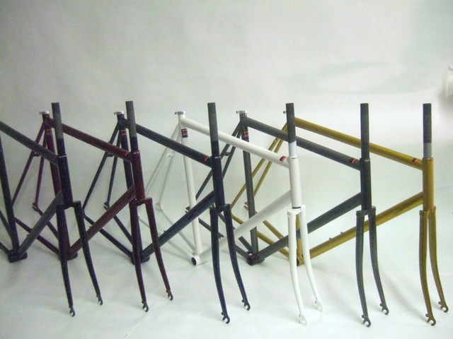 Parts NEW Cro Mo Steel Fixed Gear /Single Speed Frame Set Image