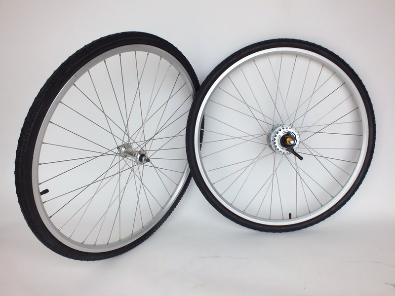 Parts Nexus 8 Speed Internal Wheel set with Shifter, Tires and Tubes! Image