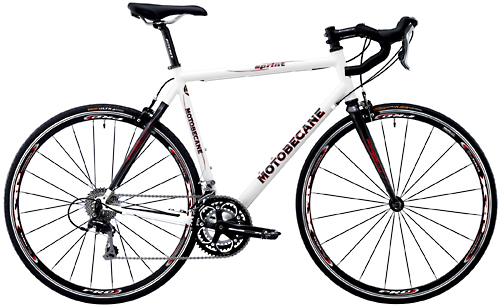 Bikes 2013 Motobecane Sprint  Carbon Fiber Stays Shimano 105 Equipped Road Bike Image