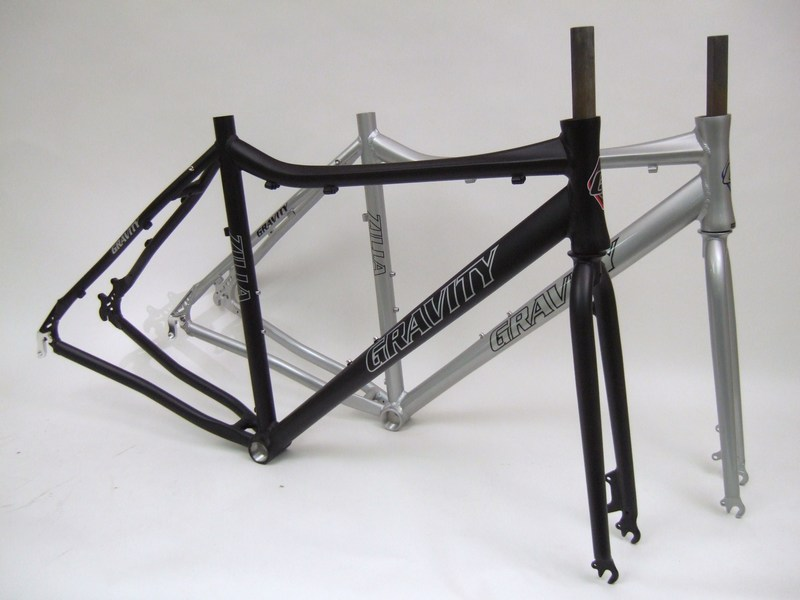 Parts Gravity Zilla 29er Aluminum Multi Speed Disc Brake Frame Set Image