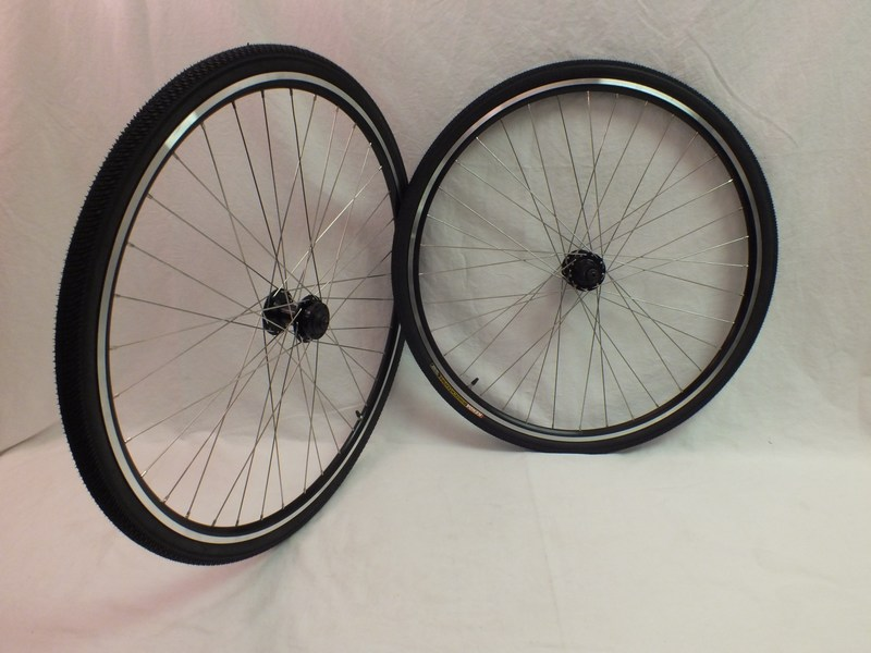 Parts Disc Rim Brake 36 Spoke Heavy Duty Road Touring Wheels Tires and Tubes Image