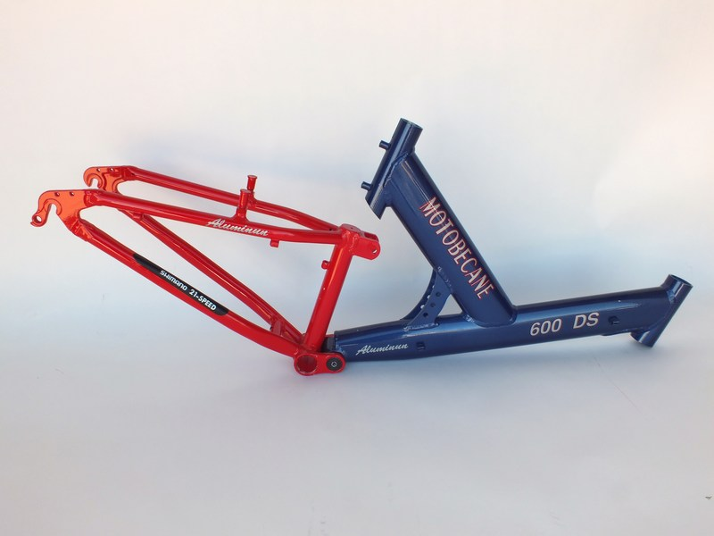 Parts Motobecane 600DS Full Suspension Frame NO SHOCK Image