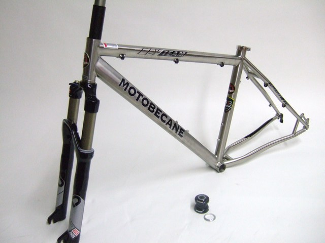 Parts FLY Team Titanium 26 inch wheel Frame Set with Rock Shox SID Race!!! Image