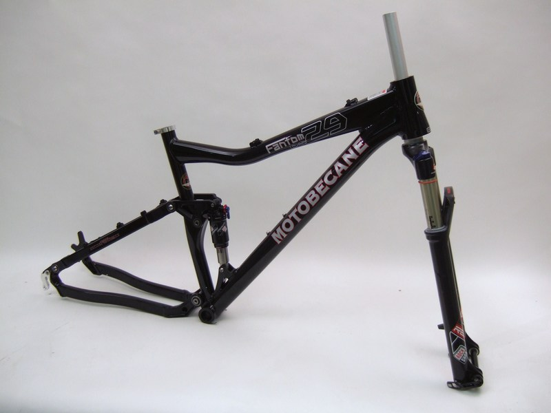 Parts Motobecane Fantom 29 D.S. Frame and Reba RL Fork Image