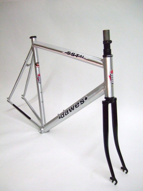 Parts ALUMINUM SINGLE SPEED / TRACK FRAME AND FORK Image
