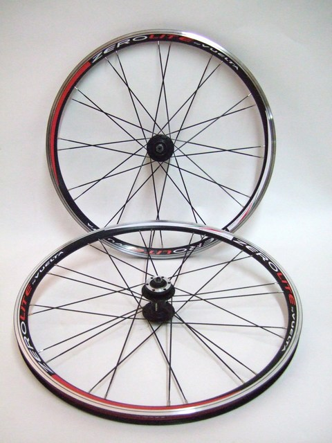 Parts Vuelta Zerolite Comp 26 Black ATB Wheels Disc Ready Image