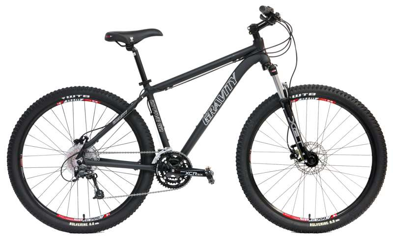 Bikes Gravity 27Five G2 Suntour MLO Suspension Fork, Shimano 27 Speed 27.5 (650B) Mountain Bike Image