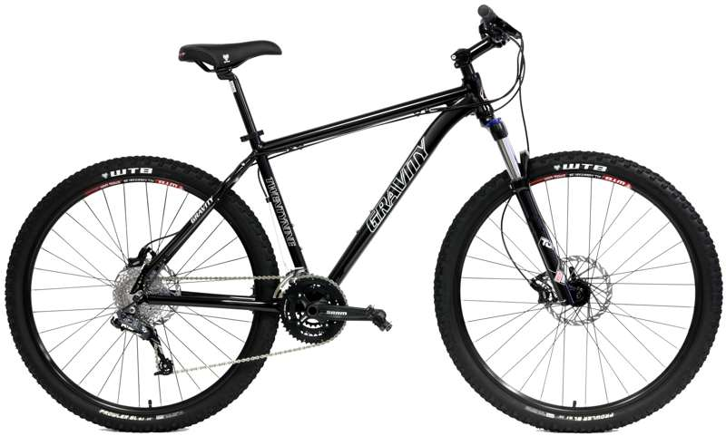 Bikes 2017 Gravity 29 Point 3 Shimano 27 Speed Shimano 27 Spd Front Suspension 29er Mountain Bikes  Image