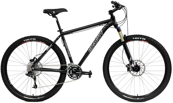 Bikes Gravity Point 5 29er MTB with Rockshox Reba RL Bike Image