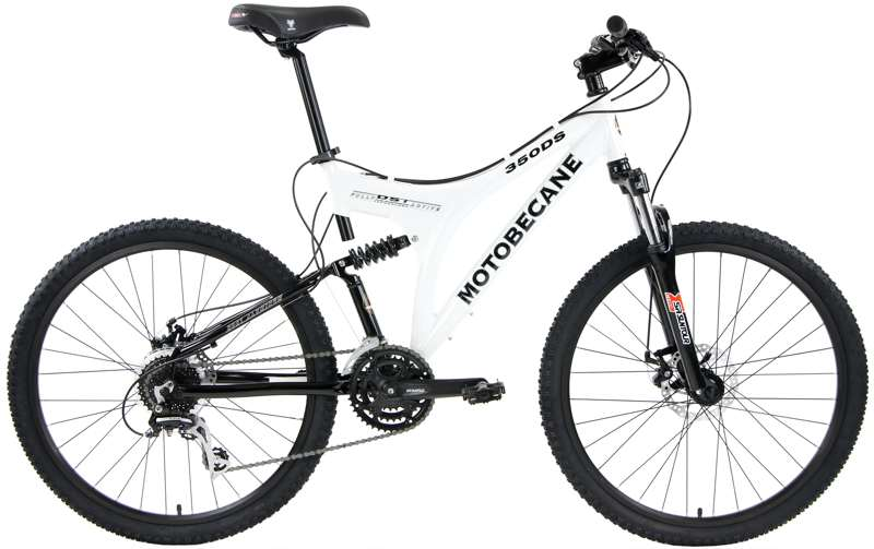 Bikes Motobecane 350DS Dual Suspension Disc Brake Mountain Bike Image