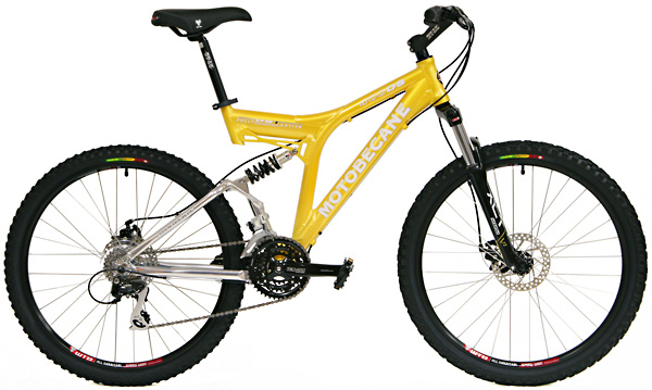 Bikes Motobecane 400ds Dual Suspension Mountain Bike Image