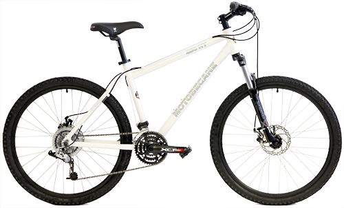 Bikes Motobecane 450HT SRAM X4 24 Speed Front Suspension Mountain Bike Image