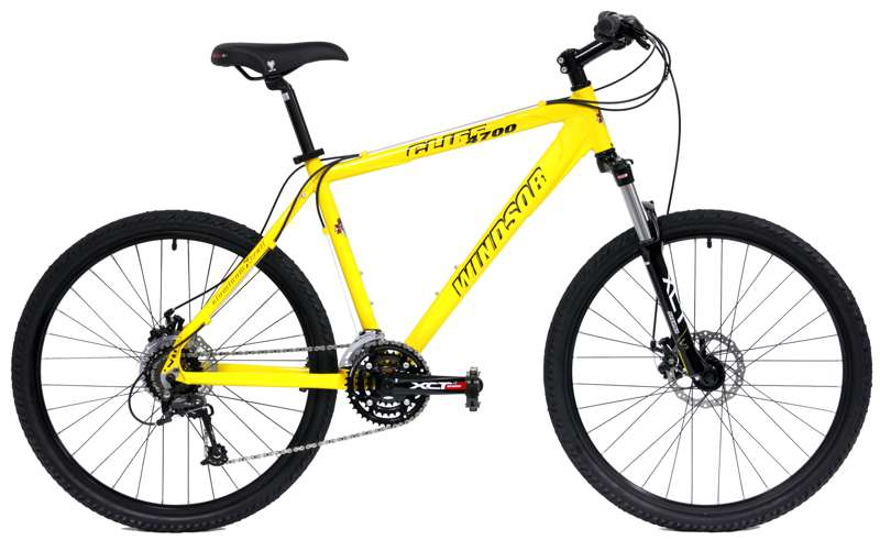 Bikes Windsor Cliff 4700 Shimano Deore 24 Speed Front Suspension Mountain Bike Image