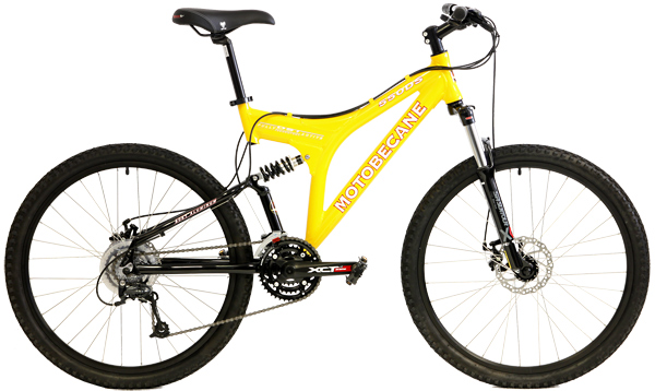 Bikes Motobecane 550 DS Shimano Deore / Alivio 24 Speed FR/RR LockOut Full Suspension Mountain Bike Image