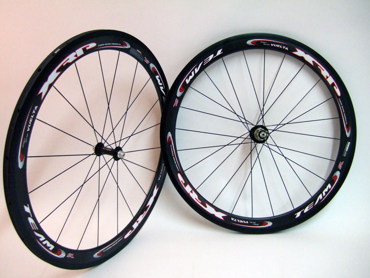 Parts 50mm Carbon Fiber Road Tubular Wheelset 5TC Image