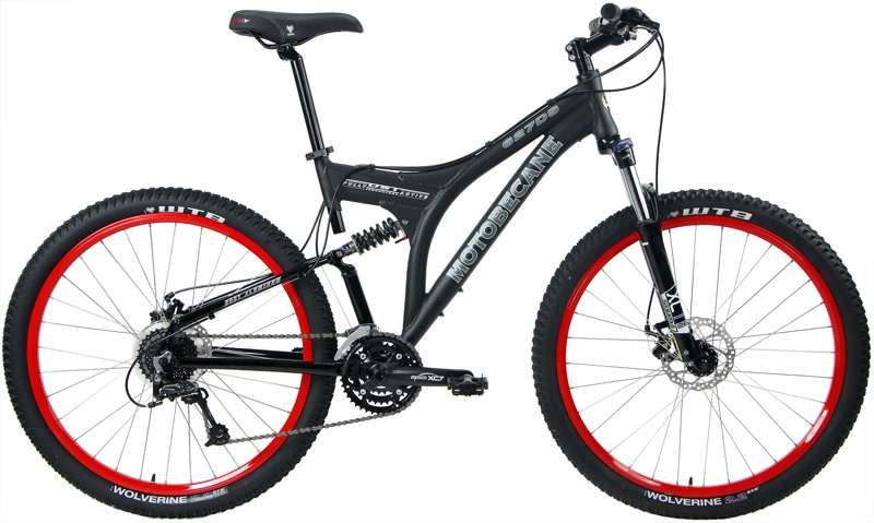 Bikes Motobecane 627 DS Shimano Deore 27.5in Dual Suspension Mountain Bike Image
