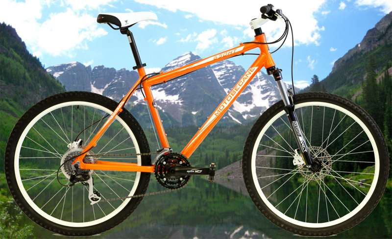 Bikes 2013 Motobecane 650 HT Shimano Alivio 24 speed Mountain Bike Image