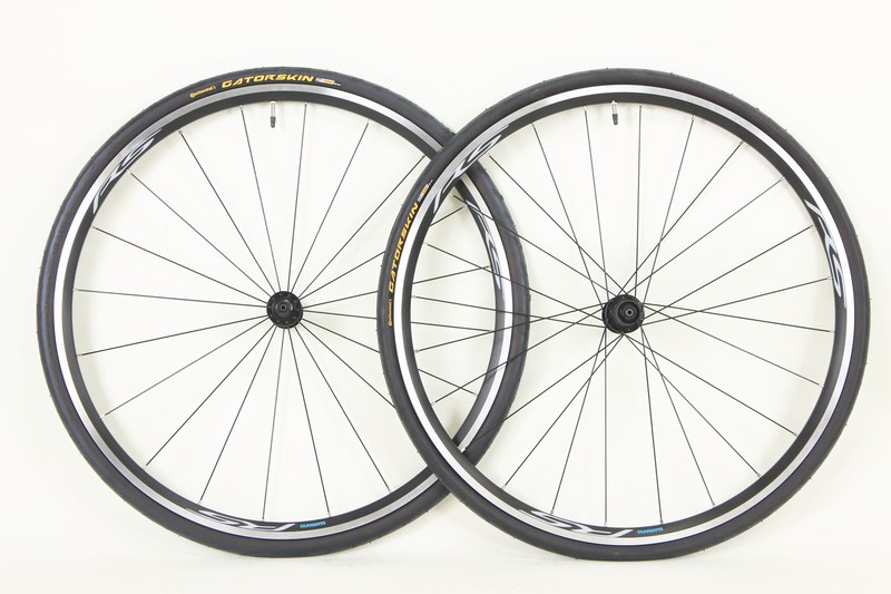 Parts Shimano RS-100 Road Wheelset With Continental Gastorskin Tires Image