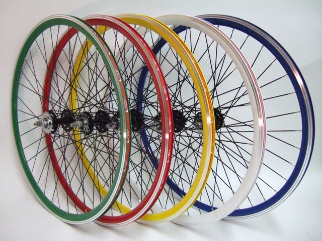 Parts Fixed Gear In Colors Image