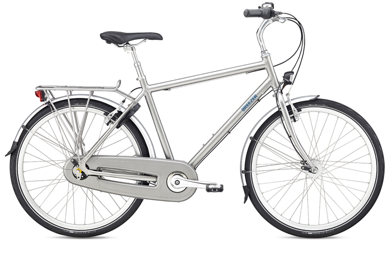 Bikes 2016 Breezer Uptown 8 Commuter Bike With Rack and Fender Image