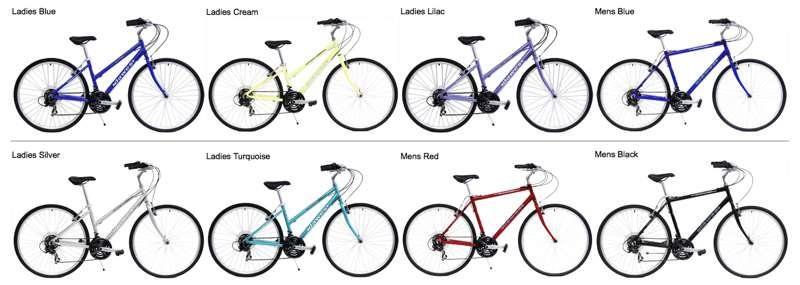 Bikes New Hybrid Flat Bar City Bike Image