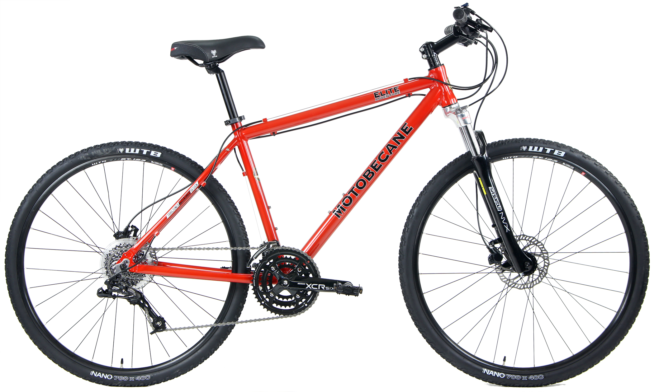 Bikes 2018 Motobecane Elite Adventure X5LTD Sram Equipped Adventure Hybrid Image
