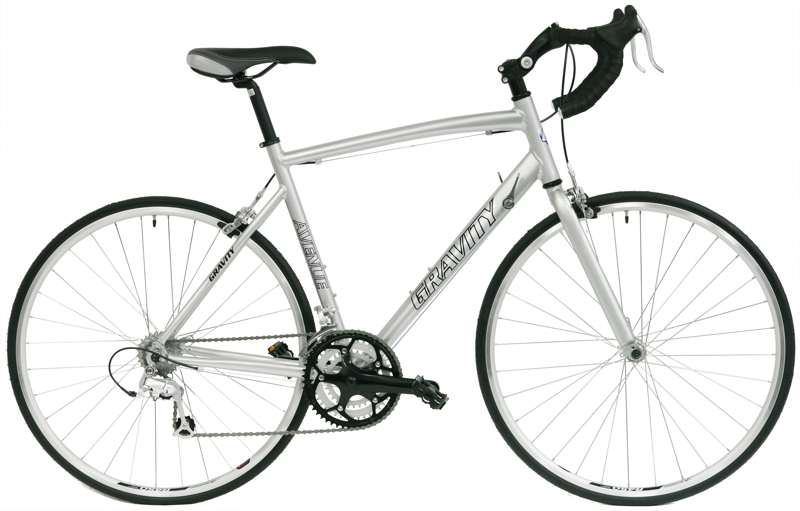 Bikes 2012 Gravity Ave B MicroShift / SunRace 24 Spd Road Bike PERFECT Image