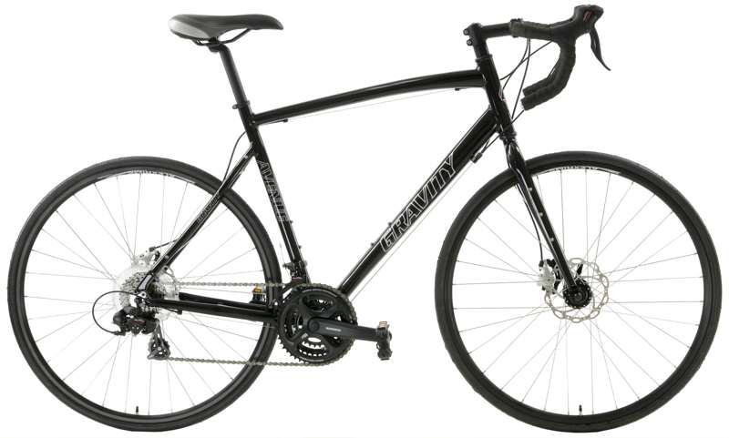Bikes Gravity Ave D Disc Brake Shimano Equipped Road Bike Image