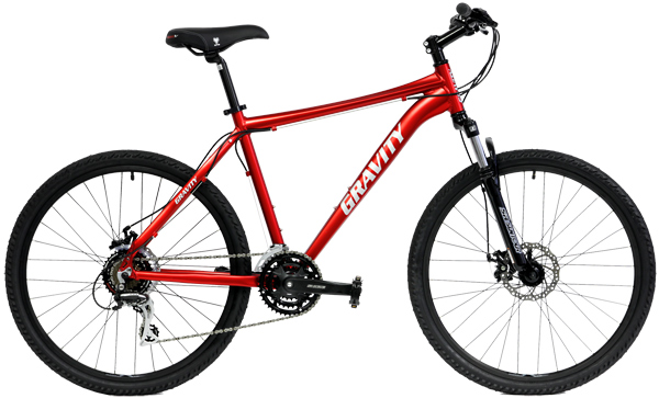 Bikes Gravity Basecamp 1.0 Front Suspension Mountain Bike Image