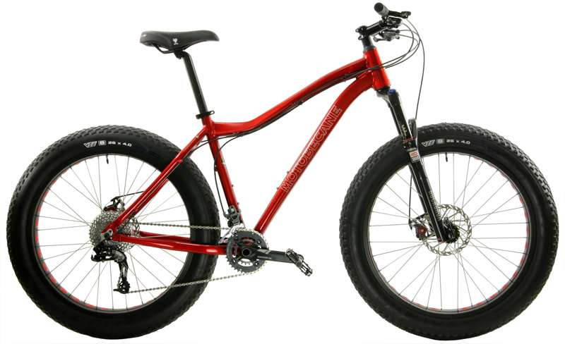 Bikes Motobecane Boris FS X9 Rockshox Bluto Equipped Fat Bike Image