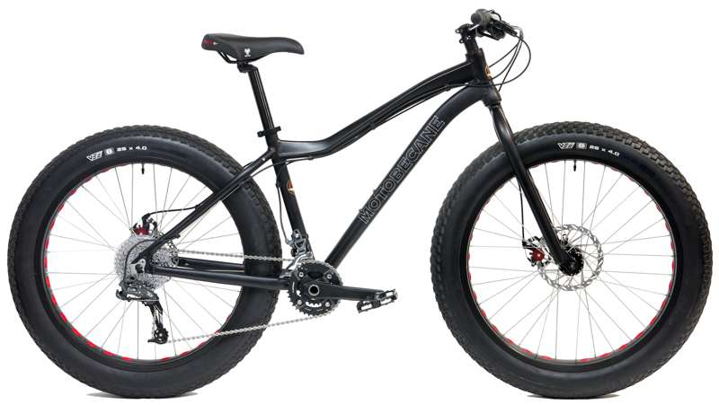 Bikes Motobecane Boris X7 SRAM X7 2x10 Speed Disc Brake Fat Bike Image