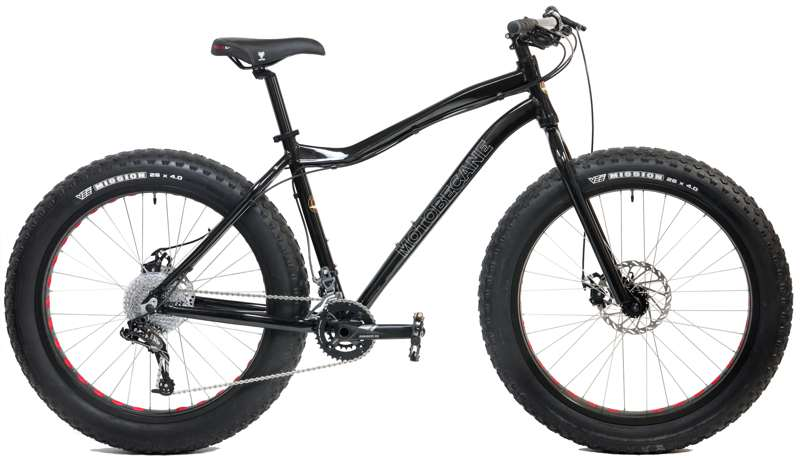 Bikes Motobecane Boris X9  SRAM X9 2x10 Speed Disc Brake Fat Bike Image