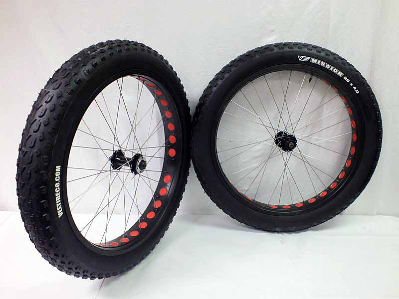 Parts Boris X9 Fat Bike Wheelset  Image