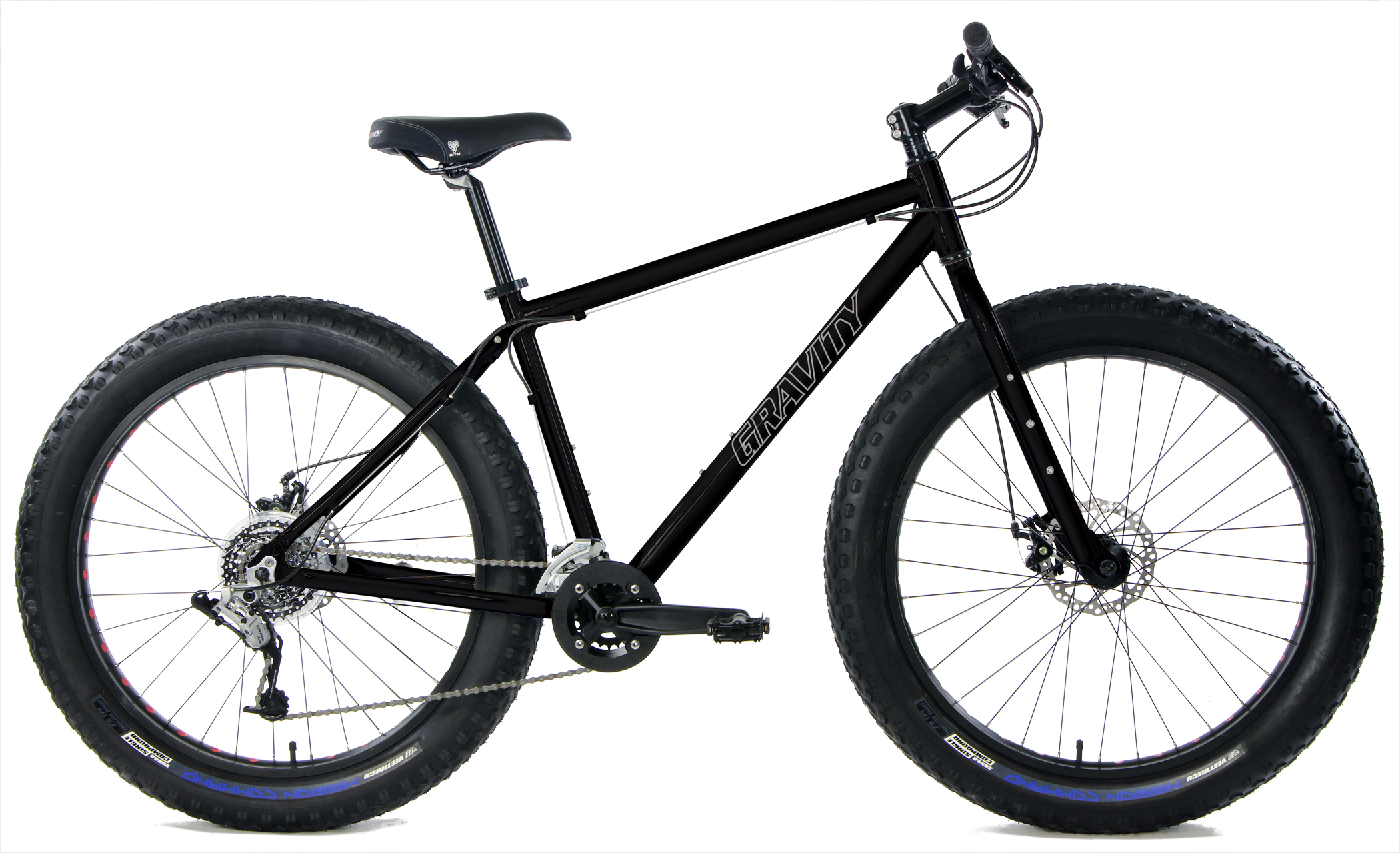 Bikes 2018 Gravity Bullseye Monster Shimano SRAM X4 24 Speed Fat Tire Bike Image