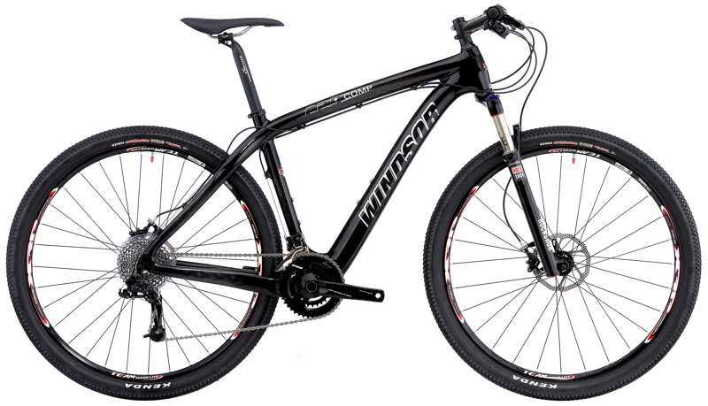 Bikes Windsor Carbon Comp 29er XO SRAM XO 20 Speed Hardtail Mountain Bike Image