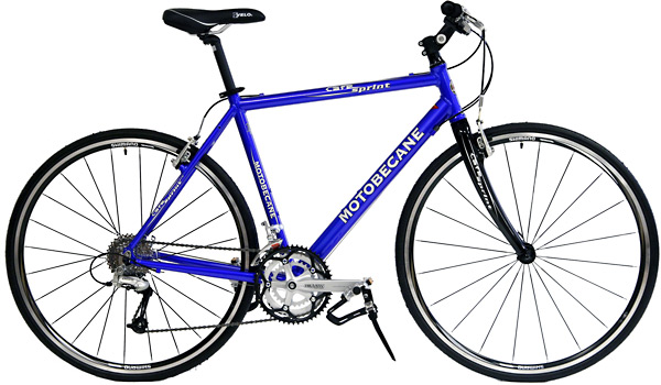 Bikes Motobecane Cafe Sprint Hybrid Bicycle Shimano Deore 27 Speed Image