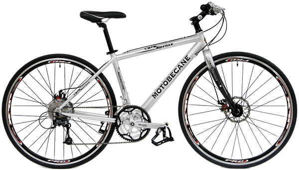 Bikes Motobecane Cafe Sprint Disc Brake Hybrid Bike Image