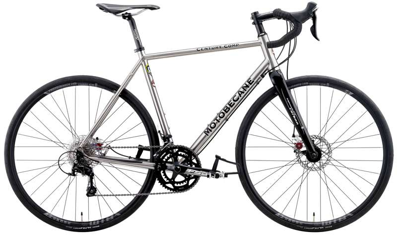 Bikes Motobecane Century Comp Ti LTD 2017 Shimano 5800 Disc Brake Titanium Road/Gravel Bike Image