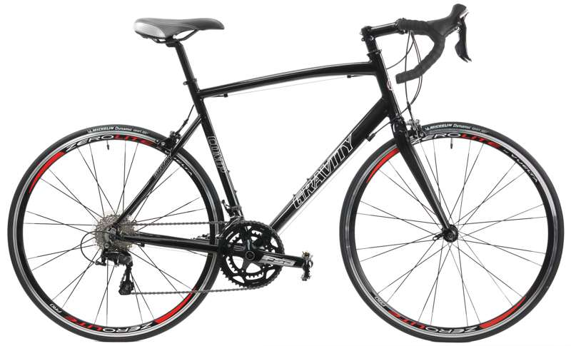 Bikes Gravity Comp 22 Aluminum Frame Shimano 105 22 Speed, Carbon Fork Road Bike Image