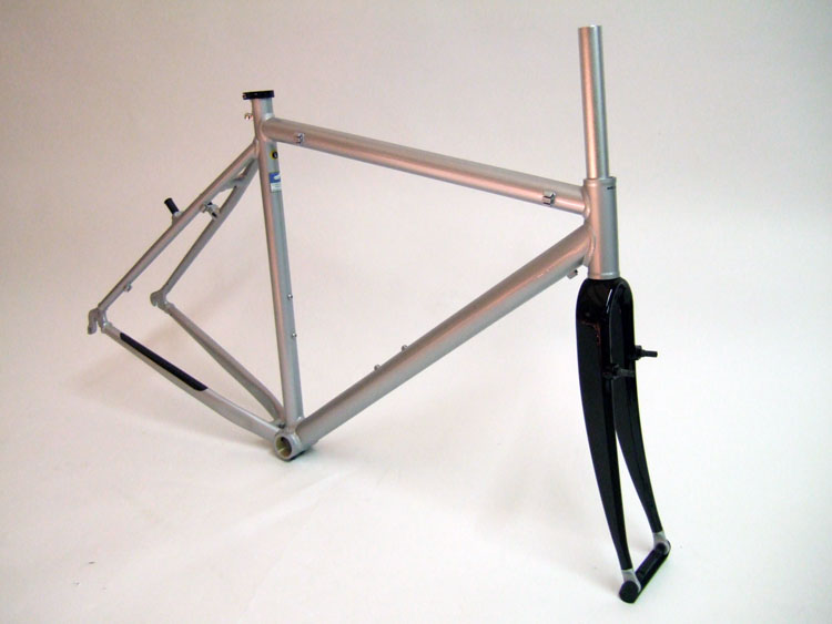 Parts CX 200 Unbranded Cyclocross Frame and Carbon Fork Image