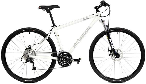 Bikes Motobecane Elite Adventure Shimano Deore 27 Speed Adventure Hybrid Bike Image