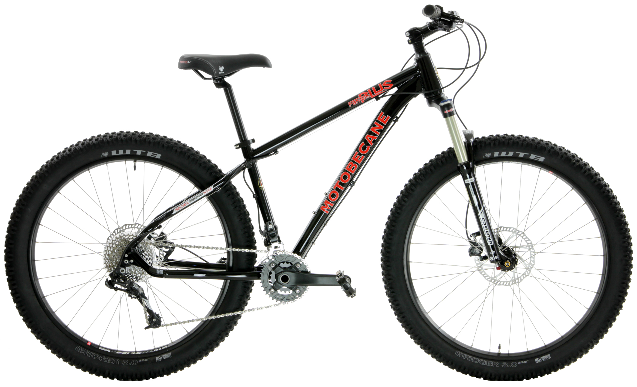 Bikes Motobecane Fantom 27.5 Plus X7 2x10 speeds Disc Brake Mountain Bike Image