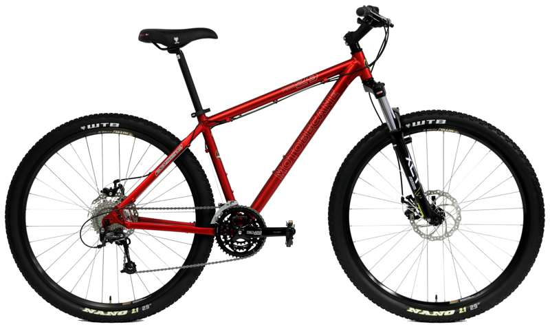 Bikes 2014 Motobecane Fantom 29 Trail Shimano Deore 27 Speed Front Suspension Mountain Bike Image