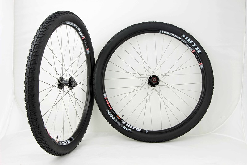 Parts WTB Frequency i25 Race 29in Mountain Bike Wheels With Nano Tires Image