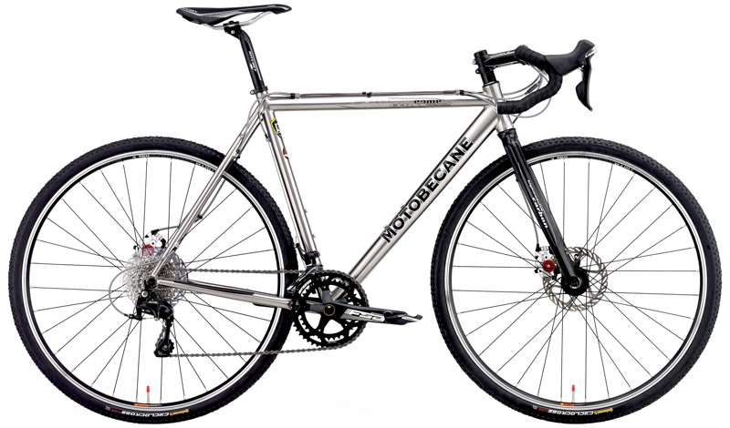 Bikes 2017 Motobecane Cross Comp Titanium Shimano 105 Disc Brake Cyclocross Bike Image